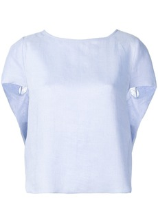 Armani round neck blouse