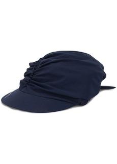 Armani ruched beach cap