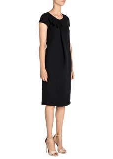 Armani Ruched Drape Dress