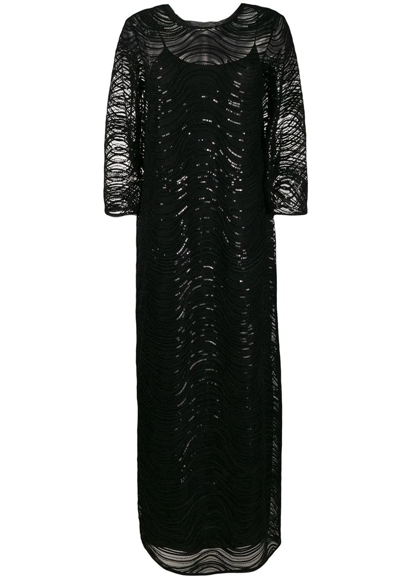Armani sequin-embellished gown
