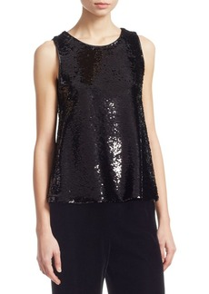 Armani Sequin Tank Top