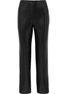 Armani Sequined Chiffon Wide-leg Pants