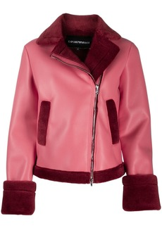 Armani shearling lined jacket