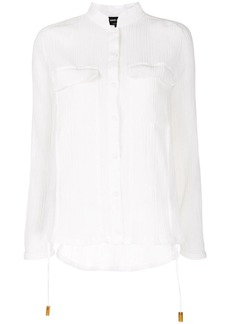 Armani sheer pocket shirt