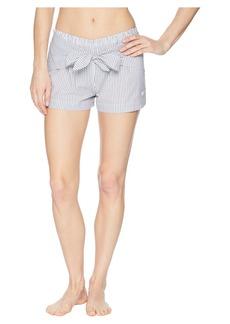Armani Shirt Passion Bow Front Shorts