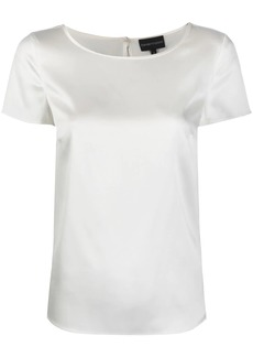 Armani short sleeve blouse