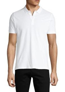 Armani Short-Sleeve Cotton Polo