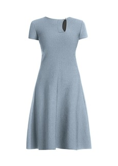 Armani Short-Sleeve Knit Dress