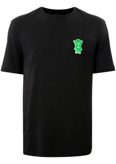 Armani short sleeve logo patch T-shirt