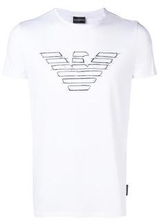 Armani short-sleeve logo T-shirt