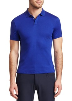 Armani Short-Sleeve Solid Polo