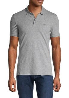 Armani Short-Sleeve Stretch-Cotton Polo