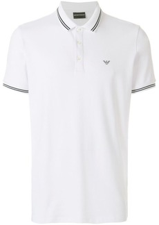 Armani short sleeved polo shirt