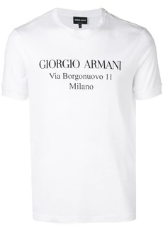 Armani short sleeved T-shirt