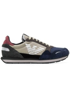 Armani side logo sneakers