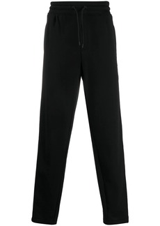Armani side-stripe track pants