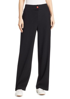 Armani Side Zip Contrast Track Pants