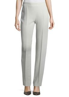 Armani Side-Zip Tech Cady Pants