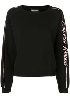 Armani signature logo sweatshirt