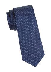 Armani Silk Chevron Tie