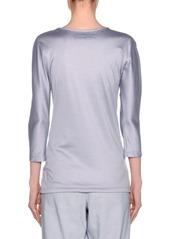 Armani Silk-Cotton Knit Long-Sleeve Tunic