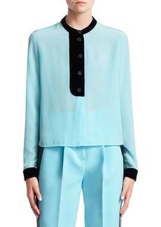 Armani Silk Crepe Shirt