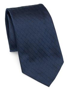 Armani Silk Diamond Tie