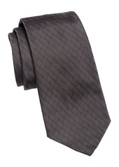 Armani Silk Diamond Tie