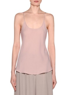 Armani Silk Georgette Camisole Top