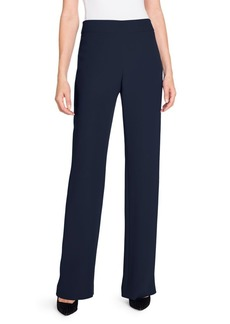 Armani Silk High-Waisted Long Pants
