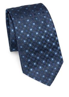 Armani Silk Medallion Tie
