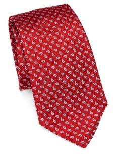 Armani Silk Paisley Tie