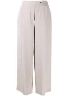Armani silk palazzo trousers