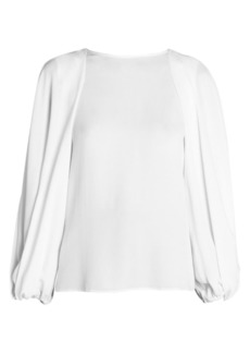 Armani Silk Sable Full Sleeve Blouse