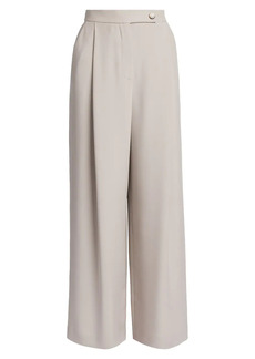 Armani Silk Single Pleat Trousers
