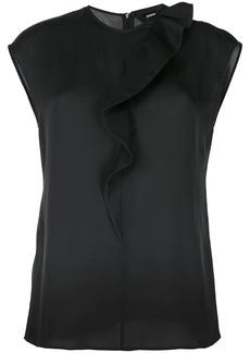 Armani silk sleeveless blouse