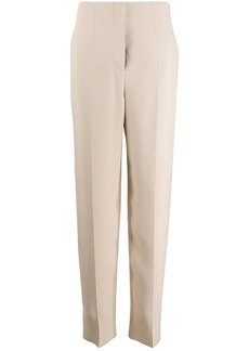 Armani silk straight leg trousers