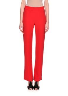 Armani Silk Wide-Leg Pants