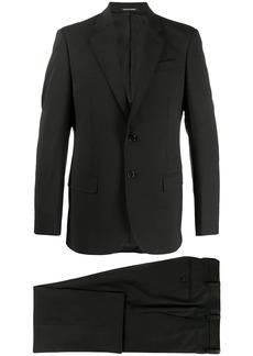 Armani single-breasted slim-fit suit