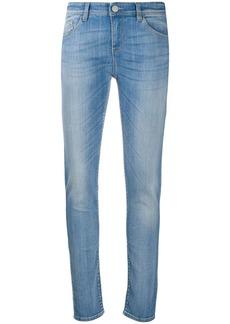 Armani skinny faded jeans
