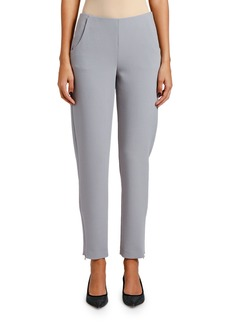Armani Skinny Zip-Cuff Pants