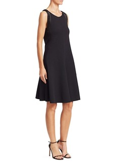 Armani Sleeveless A-Line Dress