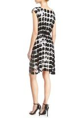 Armani Sleeveless Embroidered Macrame Dress