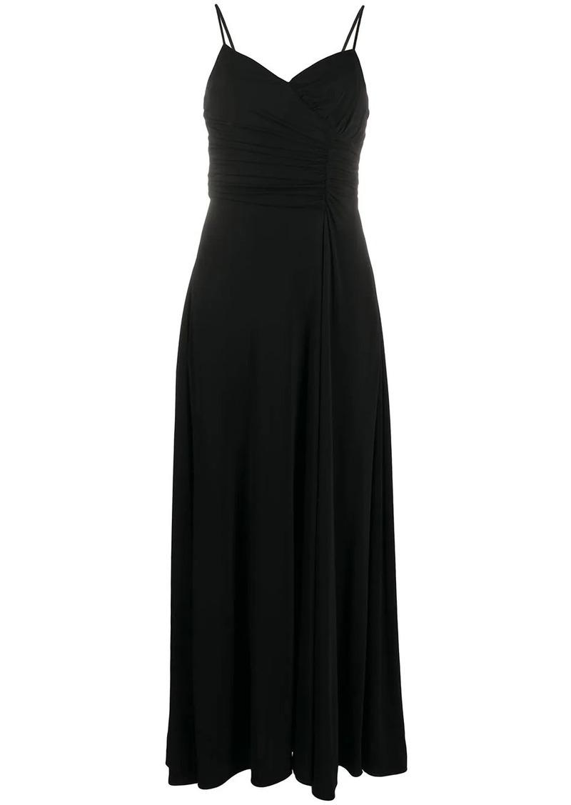 Armani sleeveless flared cocktail dress