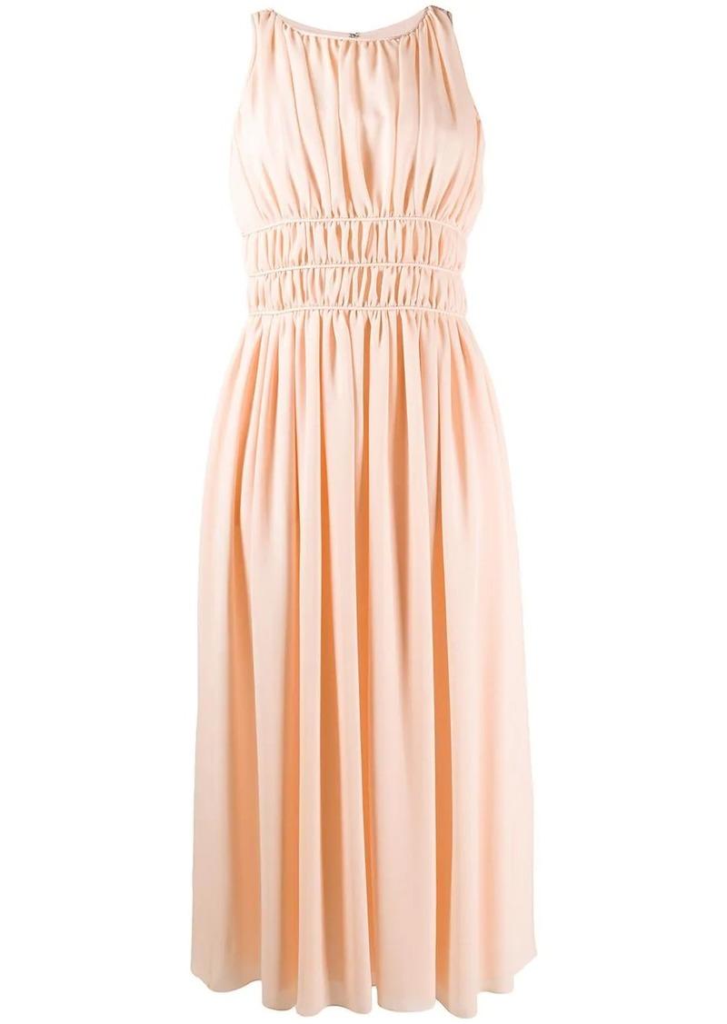 Armani sleeveless midi dress