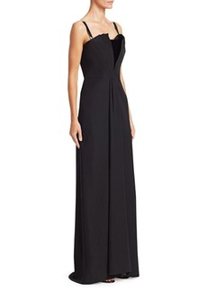Armani Sleeveless Molded A-Line Gown