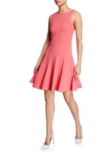 Armani Sleeveless Pleated-Skirt Dress