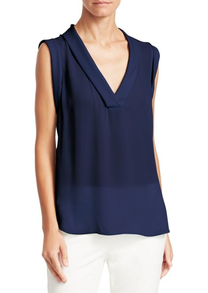 Armani Sleeveless Silk Top
