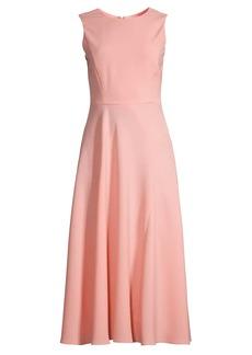 Armani Sleeveless Tea-Length Dress