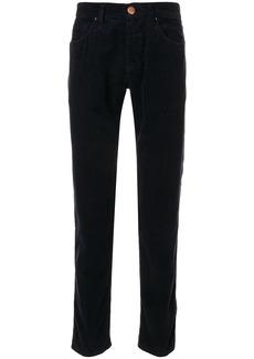 Armani slim corduroy trousers
